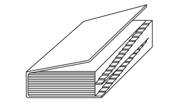 Encoches escaliers 2 niveaux superposés
